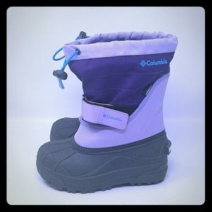Columbia Girl's Winter Snow waterproof boots